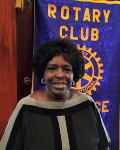 Justine Burton | StopGap | Lawrence Central Rotary