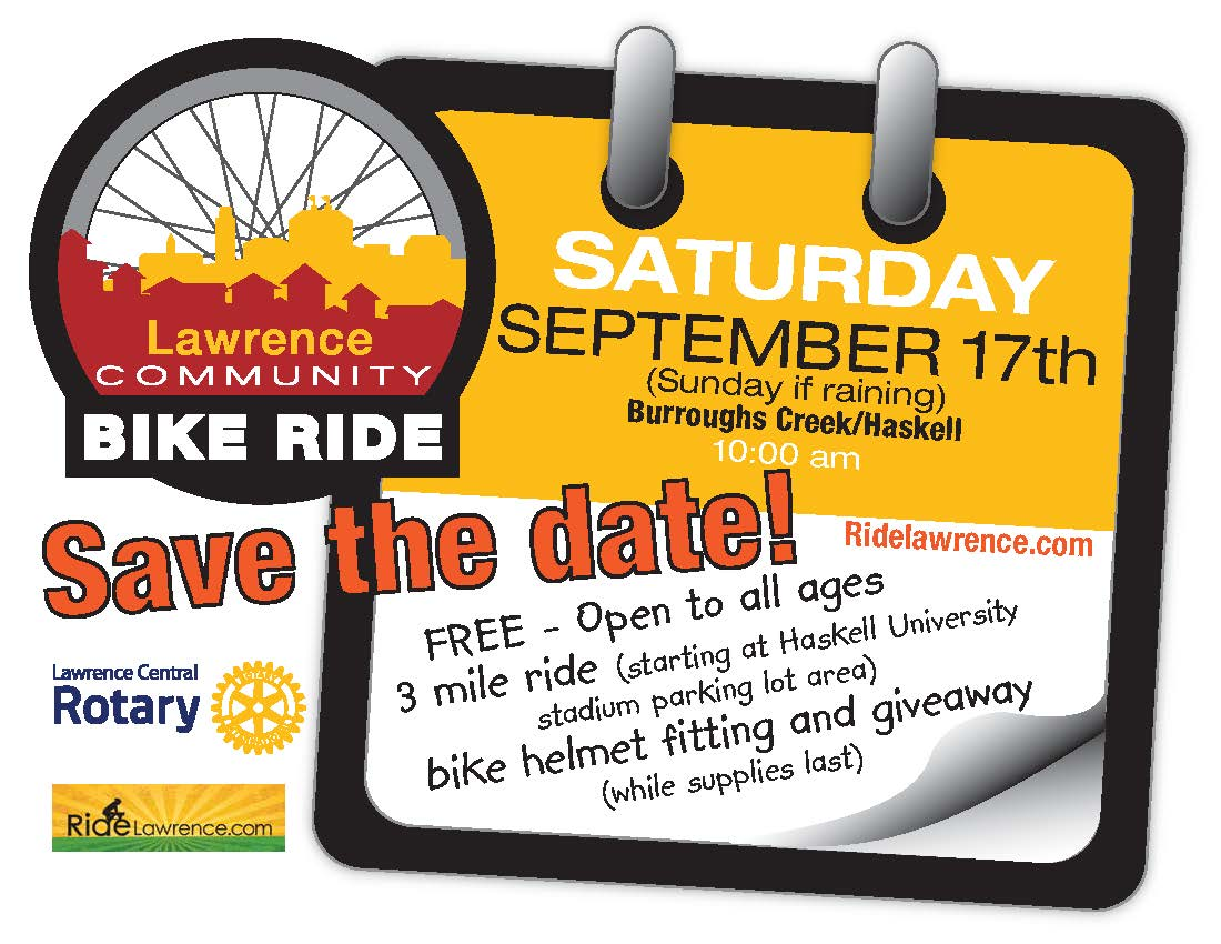 Lawrence Community Bike Ride Fall 2016