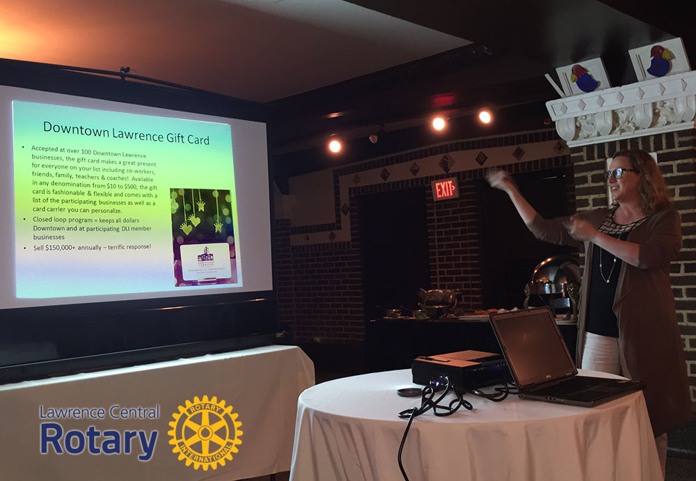 Sally Zogry | Downtown Lawrence Incorporated | Lawrence Central Rotary