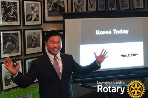 Hosub Shim | Korea Today | Lawrence Central Rotary