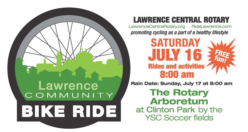 Lawrence Community Bike Ride Summer 2016