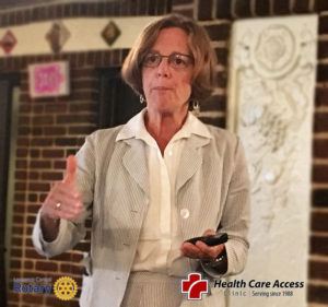 Beth Llewellyn Health Care Access | Lawrence Central Rotary